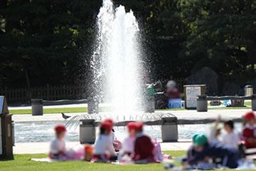公園利用のイメージ